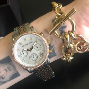 Michael Kors watch & bracelet